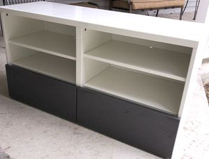 IKEA high gloss entertainment center for Sale in Frederick, MD