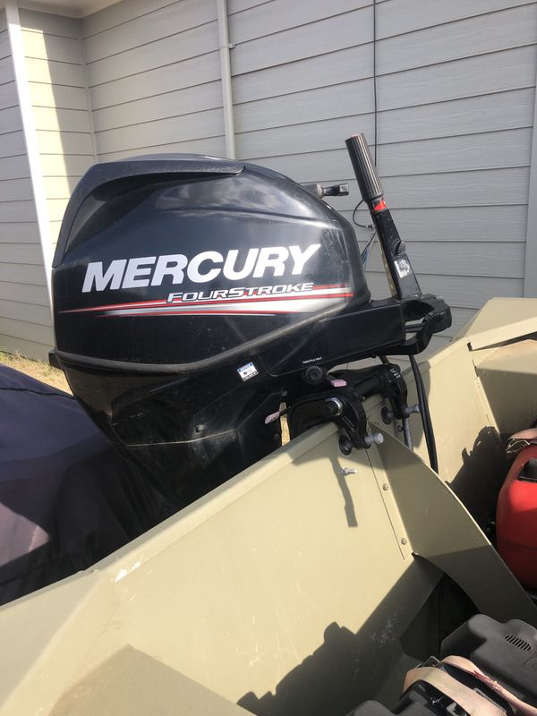 Grizzley tracker boat-johnboat