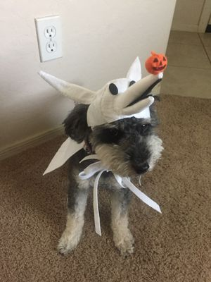 nightmare before christmas zero dogpet costume size l halloween handmade for sale in el