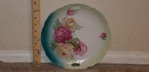 Beautiful Vintage Rose Motif Decorative Plate for Sale in Woodbridge, VA