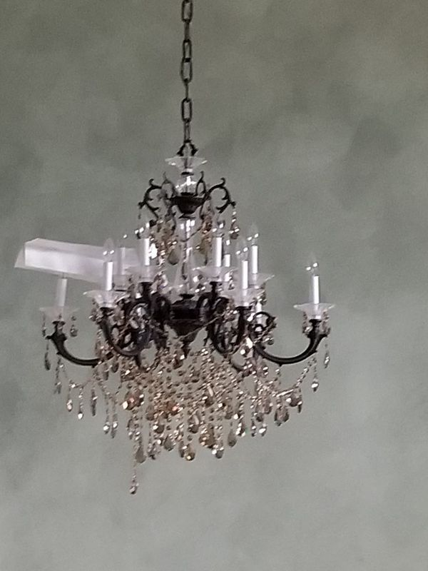 Crystal and metal chandelier for sale in palm beach gardens fl crystal and metal chandelier for sale in palm beach gardens fl offerup mozeypictures Images