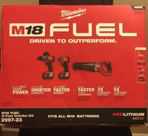 Milwaukee fuel set for Sale in Hillsborough, NC