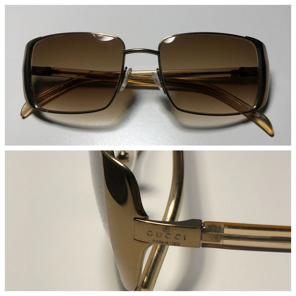 840b96a65bf Vintage Men s Gucci shades with case for Sale in Baltimore