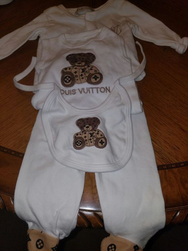 Louis Vuitton newborn outfit for Sale in Castro Valley, CA ...