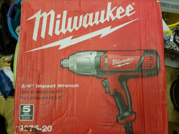3 4 Milwaukee Electric Impact Driver For In Port St Lucie Fl Offerup