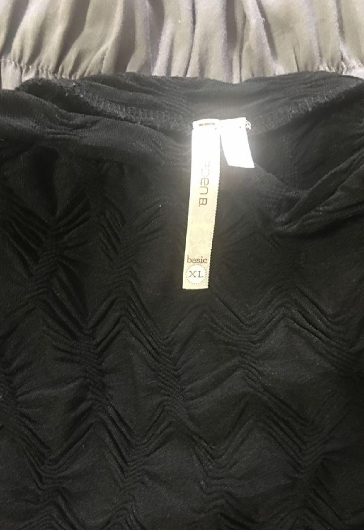 arden b brand black dress size xl