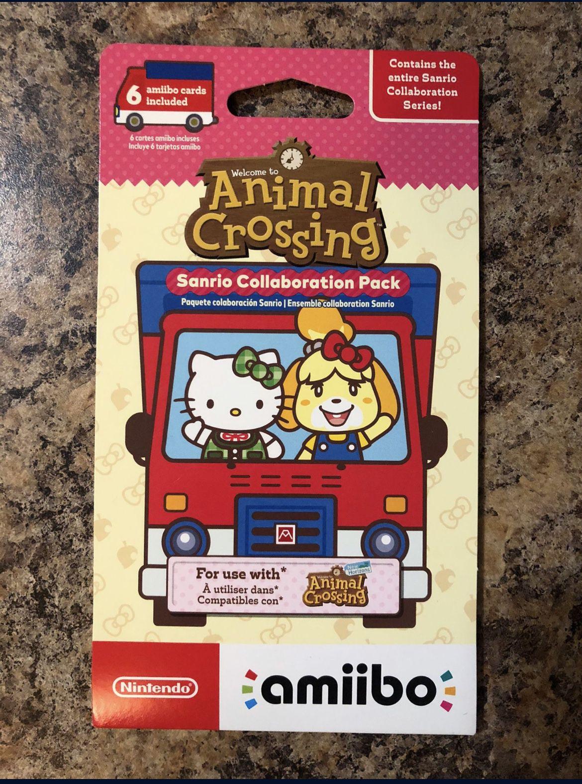 Animal crossings Amiibo Cards