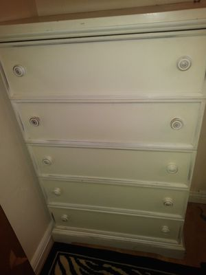 White dresser for Sale in Salt Lake City, UT