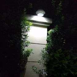 LED Solar Power Light with Bracket Outdoor Wall Security   Thumbnail