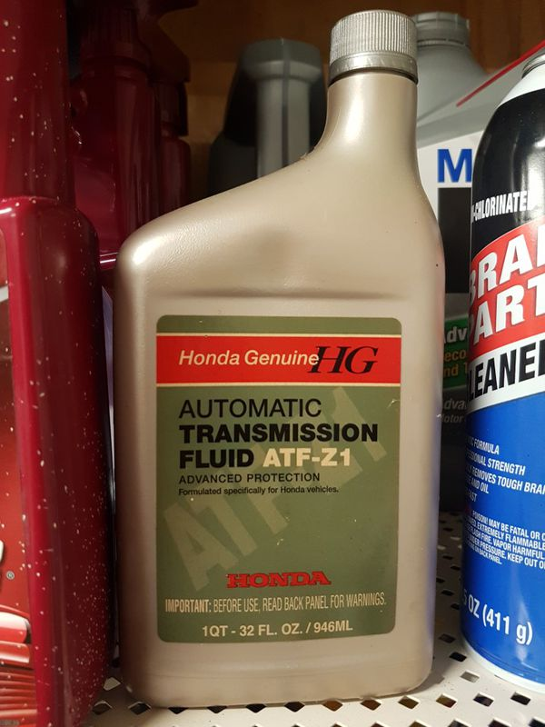 3 Quarts Genuine Honda Automatic Transmission Fluid Atf Z1 Mpu Boerne Read Entire Listing