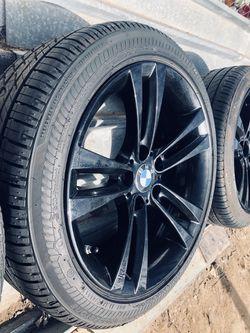 "Refinished 18"" sport wheels bmw Thumbnail"