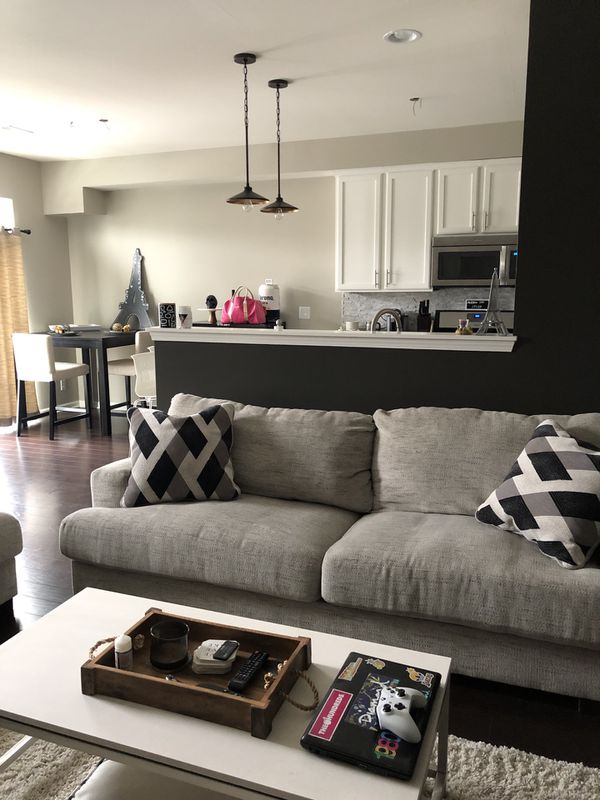 Ashley S Furniture Geashill Sofa And Love Seat For Sale In St Charles Il Offerup