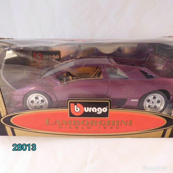 Bburago Lamborghini Diablo Metallic Purple 1 18 For Sale In Somers