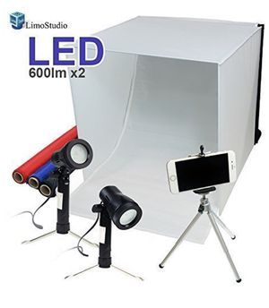 """LimoStudio 16"""" x 16"""" Table Top Photography Studio Tent Kit for Sale in San Francisco, CA"""