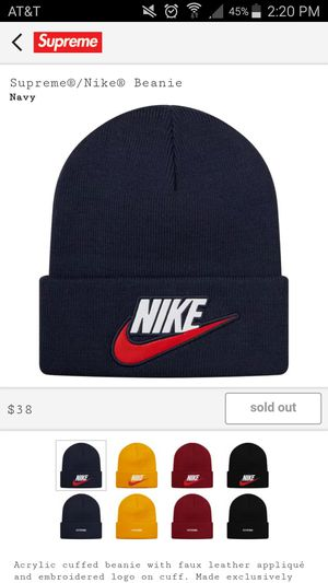 e4bb8c682d86a New and Used Supreme beanie for Sale in Manteca