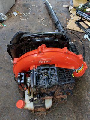 back pack blower echo 580t for Sale in Arrington, VA