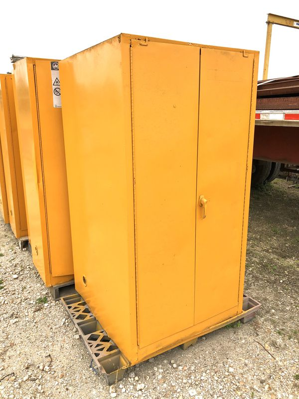 USED Flammables Cabinets FIRM for Sale in Houston, TX ...