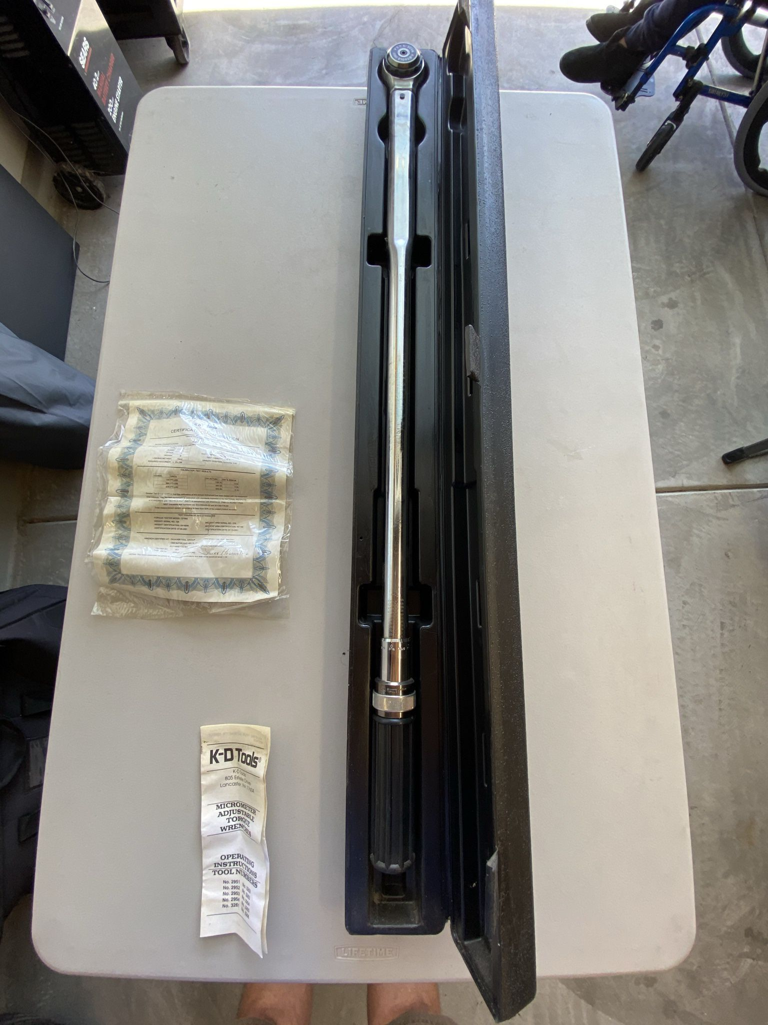 """3/4"""" Torque Wrench 600 Ft/lbs. New."""