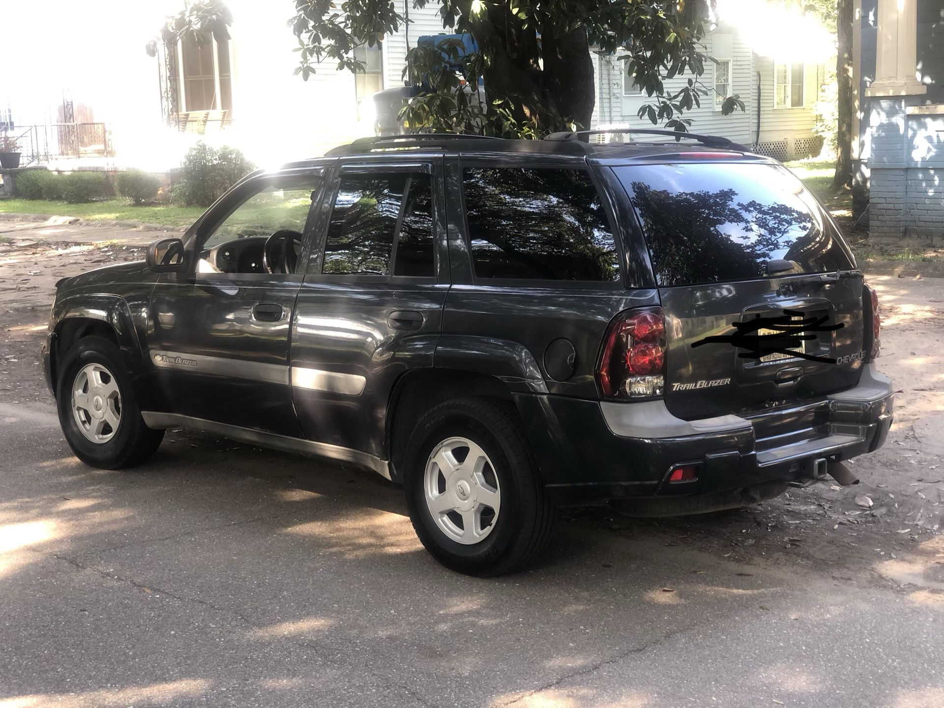 Photo I have a 2003 trailblazer runs Great it can literally go anywhere. looking to trade for Mustang but Im asking 4,000