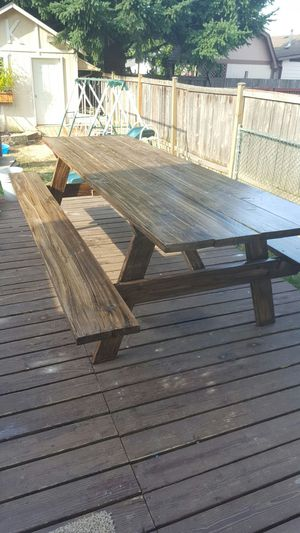Ft Long Picnic Table For Sale In Gresham OR OfferUp - Long picnic table for sale
