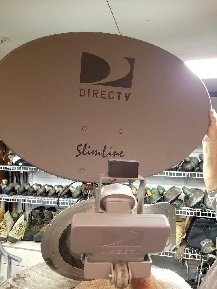 Photo Winegard RV satellite reciever for Direct TV.