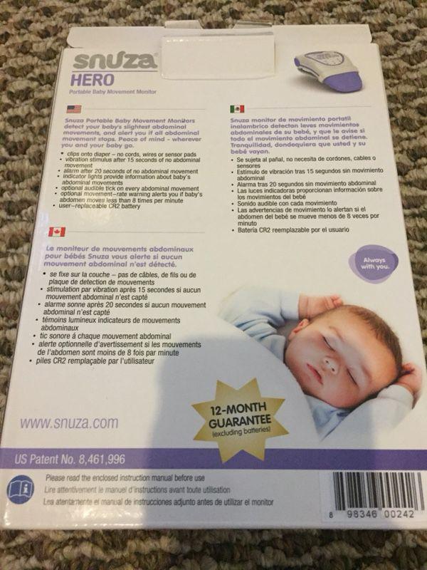 Snuza Hero Baby Monitor For Sale In Las Vegas Nv Offerup