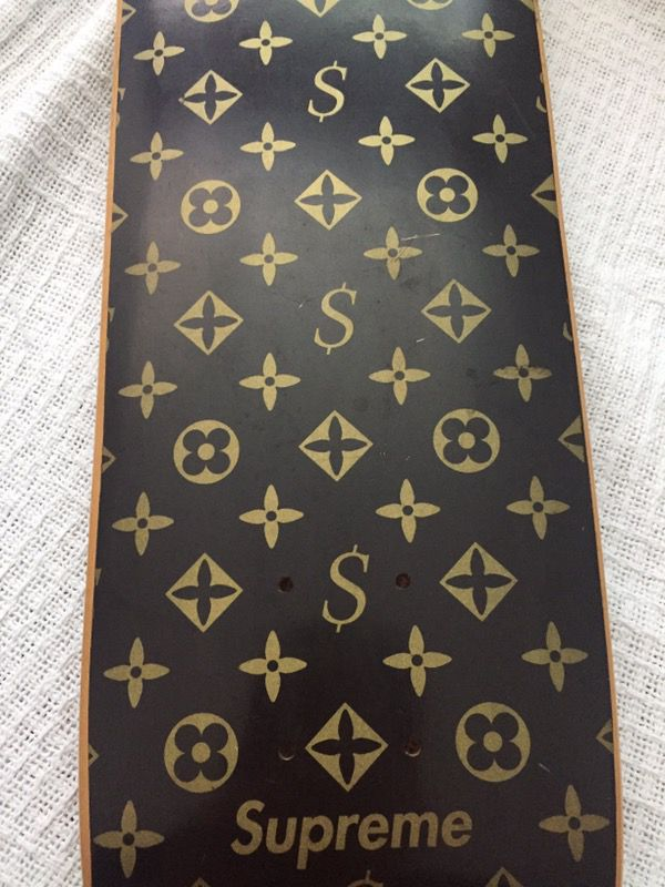 Supreme Louis Vuitton Skate Board Deck Original 2000 Monogram for ... 71790bdb508a