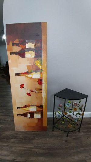 Wine and corner shelf. for Sale in Austin, TX