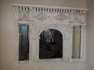 Antique Wood beveled carved 42x34 for Sale in Casselberry, FL