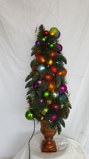 Christmas Topiary.Tabletop Christmas Topiary Decoration For Sale In Scottsdale Az Offerup