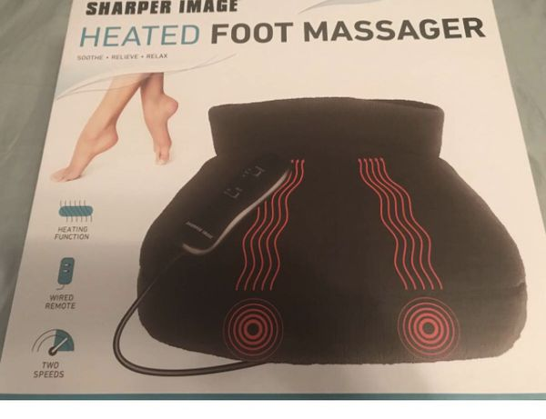 Brand New Sharper Image Heated Foot Massager For Sale In Belmont Nc