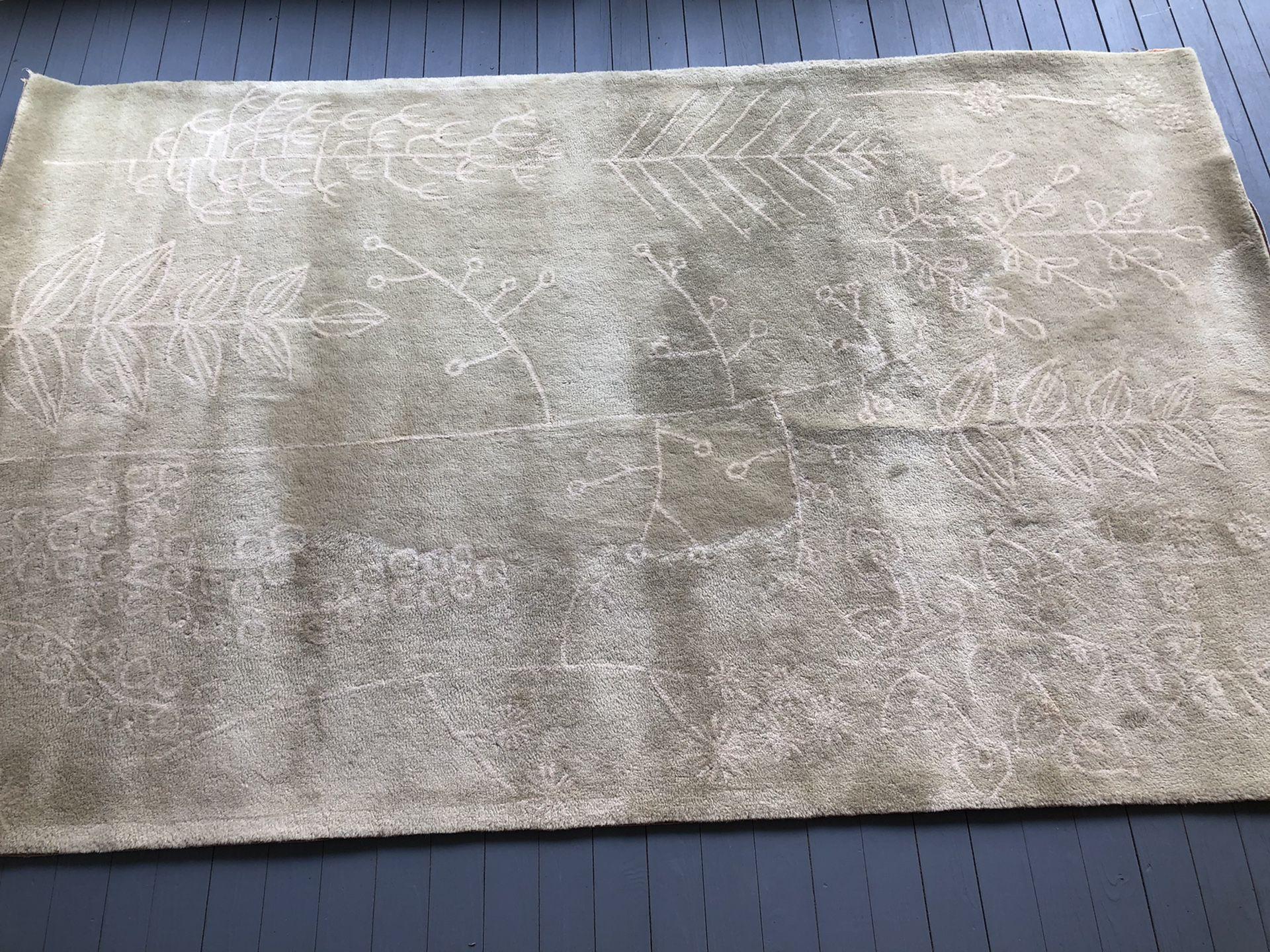 West Elm area rug