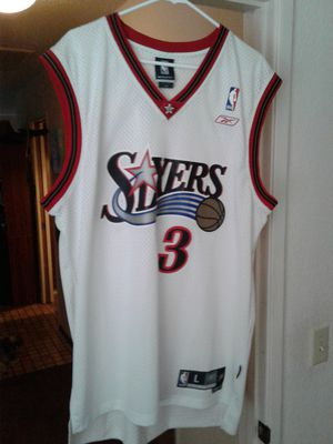 check out eae12 117e3 Allen Iverson jersey. for Sale in Modesto, CA - OfferUp