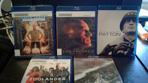 Zookeeper Zoolander Patton Perfect Storm five great movies for Sale in San Francisco, CA
