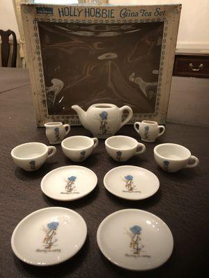 Vintage Holly Hobbie Tea Set for Sale in Centreville, VA