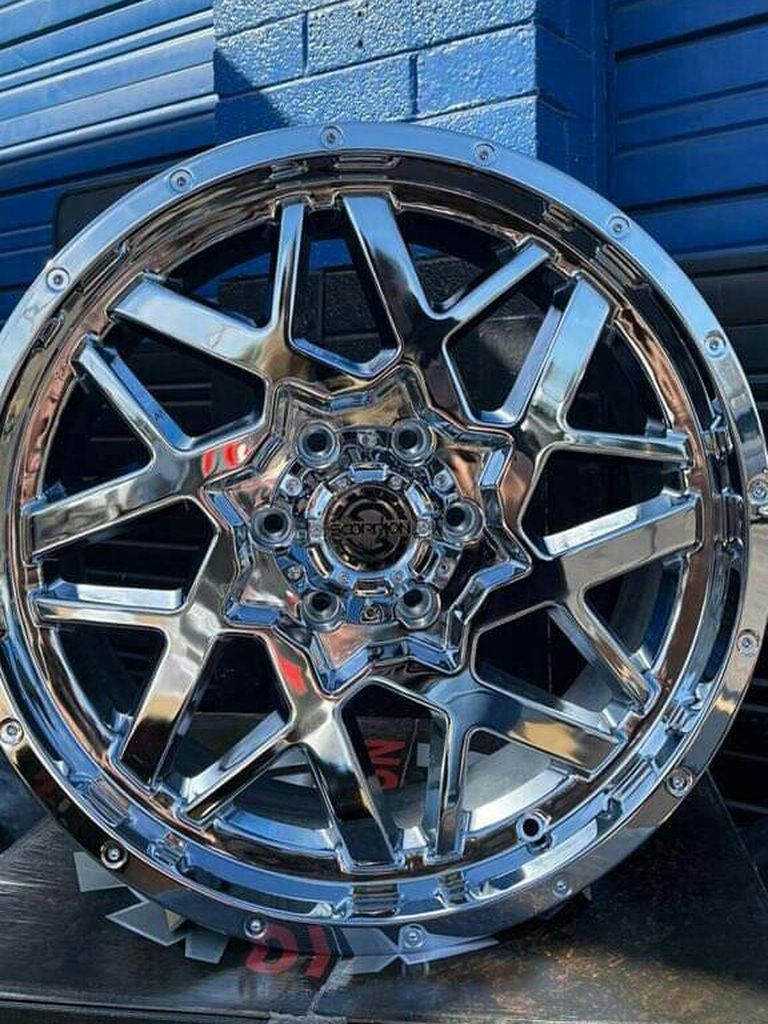20x12 NEW WHEELS AND TIRES (contact info removed)0