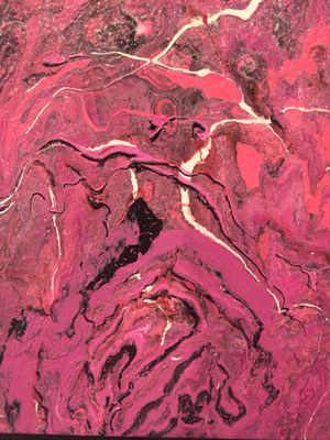Abstract painting hand painted for Sale in Washington, DC