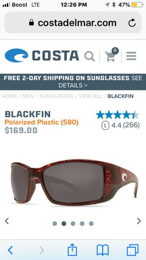 8c333d14df Brand New Costa sunglasses BlackFin for Sale in Daytona Beach