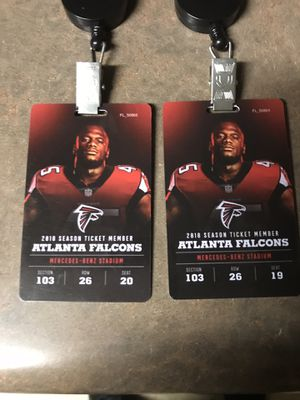 Falcons vs Cowboys Tickets for Sale in Lithia Springs, GA