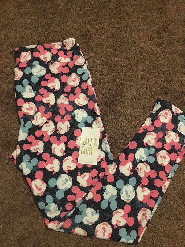 cdc5f3a65ced03 Lularoe Disney Mickey Mouse Leggings for Sale in March Air Reserve ...