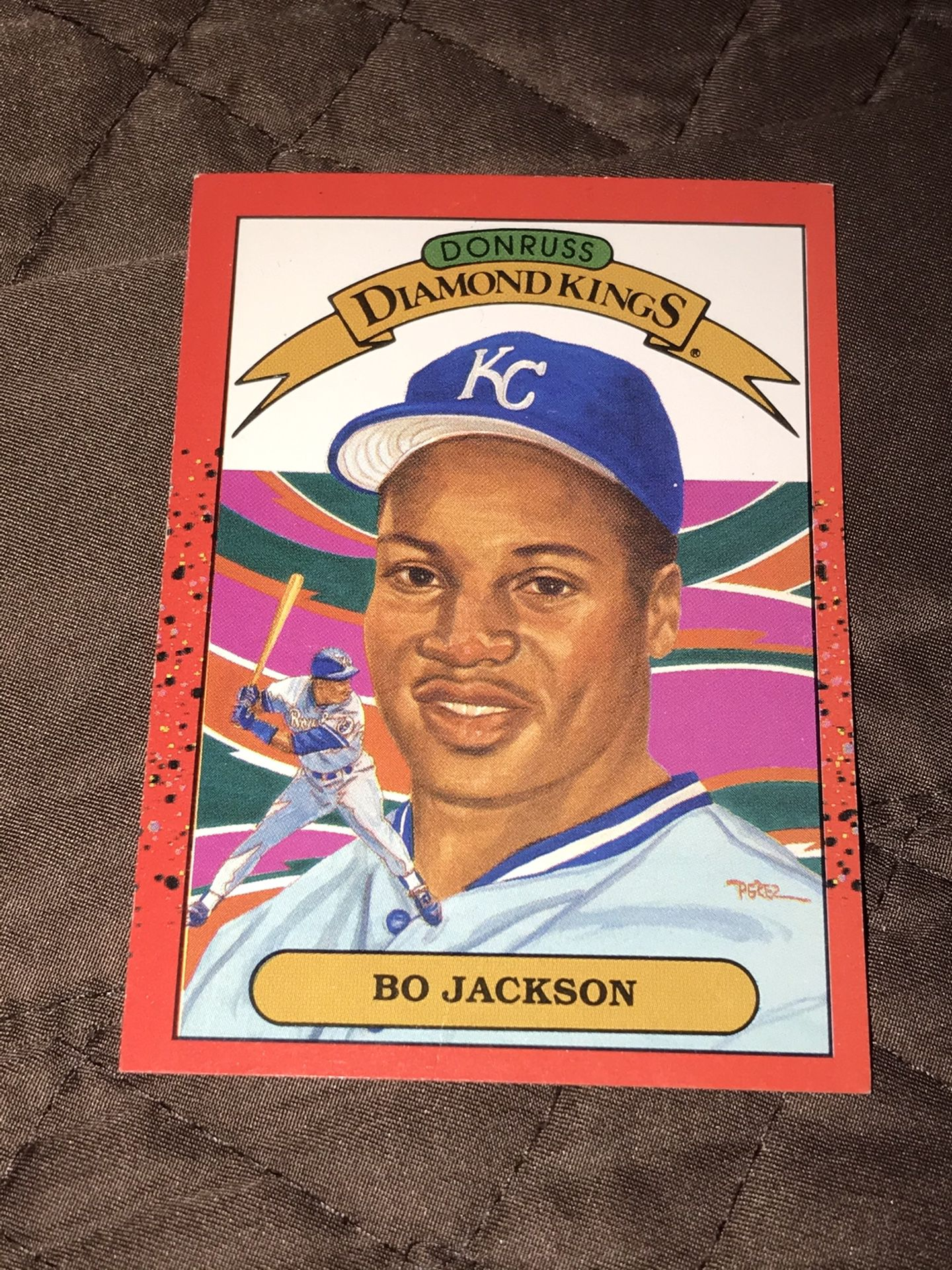 Sports cards collected in good condition.