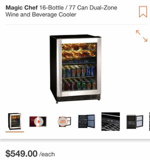16 bottle/77 can wine and beverage cooler for Sale in Downey, CA