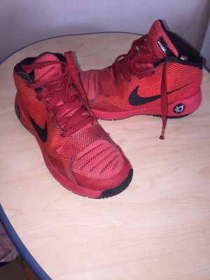 Nike Red KD TREY 5 III SNEAKERS size 4.5Y for Sale in Richmond, VA