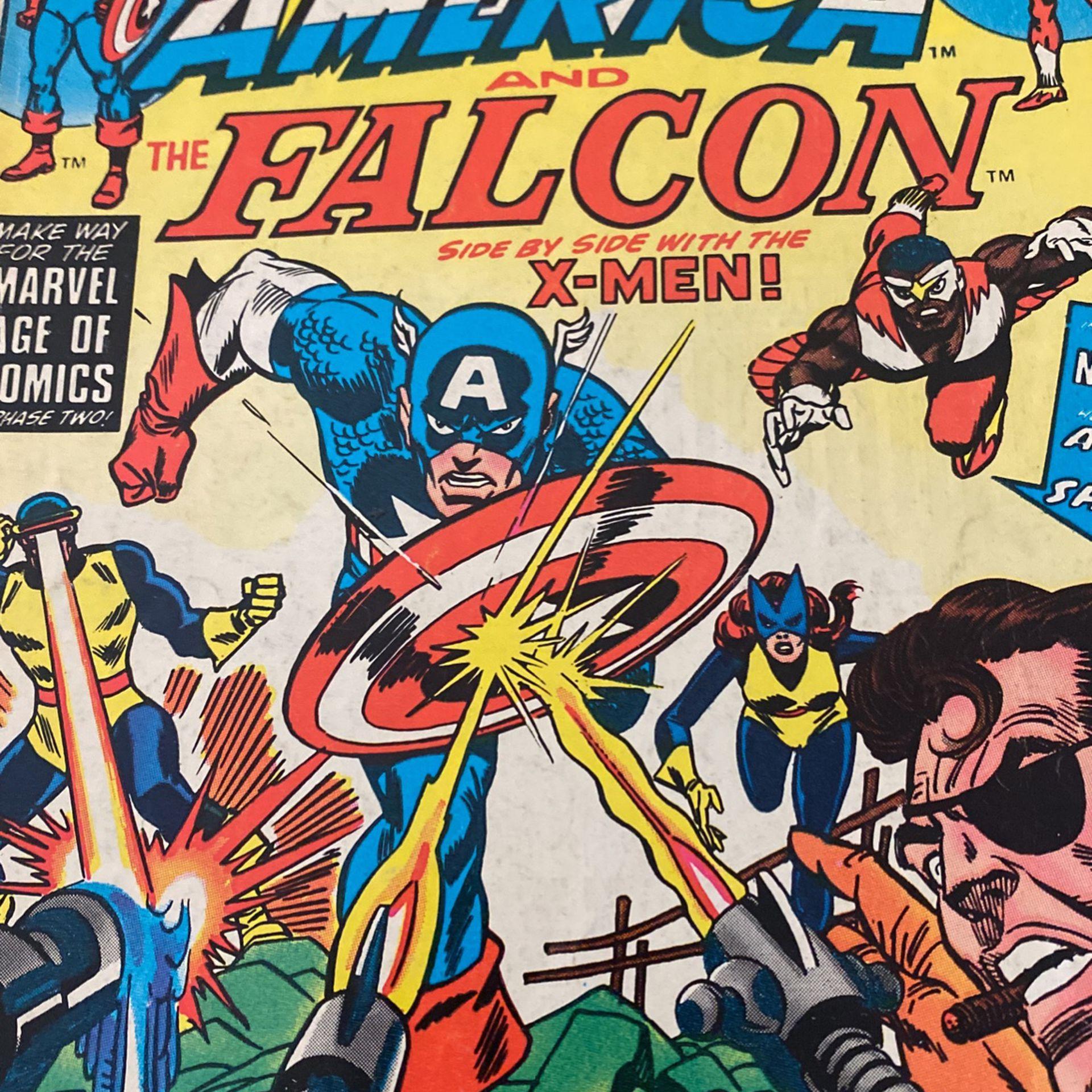 Marvel Comic Book Captain America #173