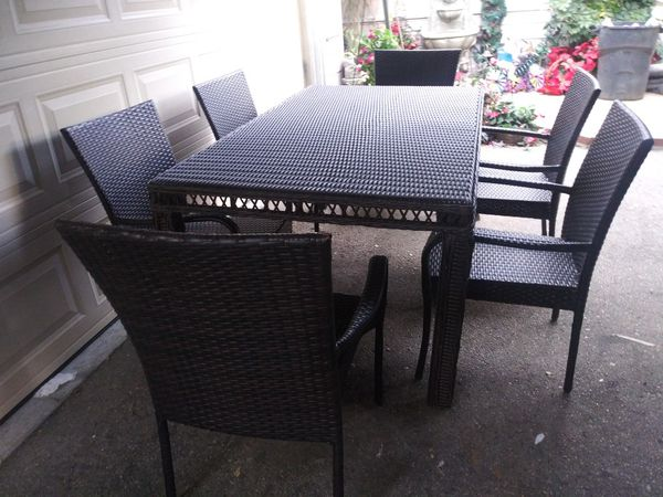 Outdoor Patio Furniture Set For Sale In Los Angeles Ca