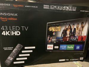 Insignia TV 43 LED for Sale in Alexandria, VA