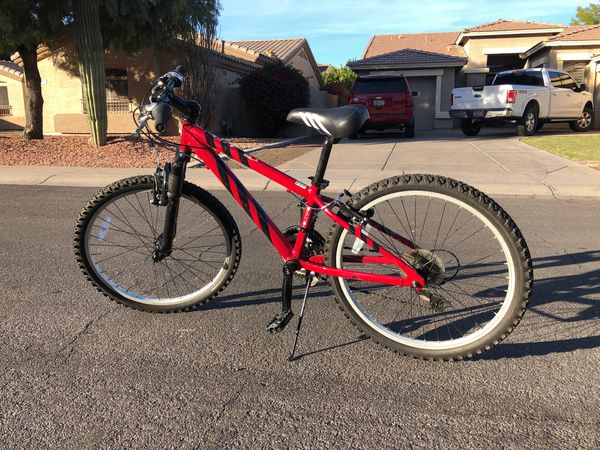Performance holeshot mountain bike for kids for Sale in Gilbert, AZ -  OfferUp