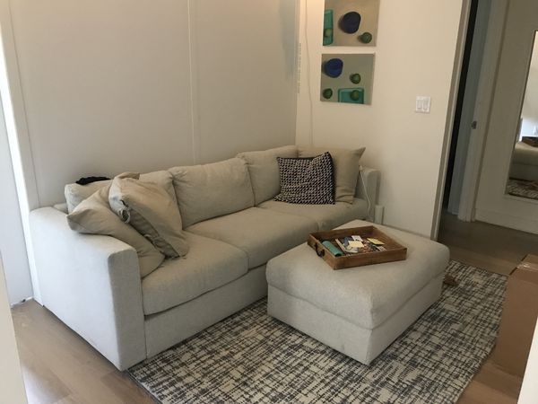 Outstanding Ikea Vimle Couch And Ottoman For Sale In New York Ny Offerup Gamerscity Chair Design For Home Gamerscityorg