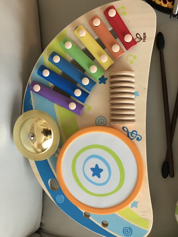 Hape Mighty Mini Band Wooden Toy And Leap Frog Learn Music Instruments Pending Pick Up For Sale In Kenmore Wa Offerup