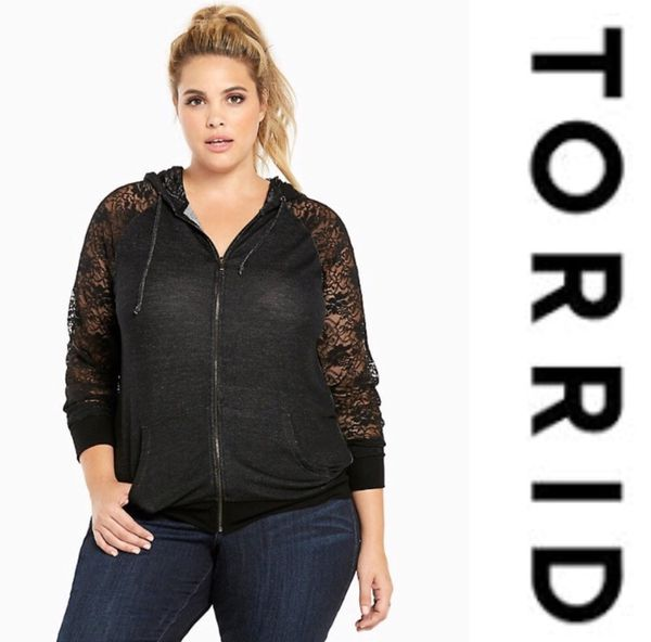 6575bf818af Women s Plus Size Torrid Lace Hoodie for Sale in Maple Falls